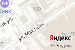Схема проезда до компании Алтын Алма в Шымкенте