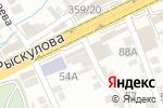 Схема проезда до компании Автомойка самообслуживания в Шымкенте