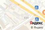 Схема проезда до компании DAMU в Шымкенте