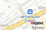Схема проезда до компании Айжан в Шымкенте