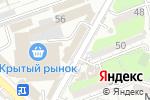 Схема проезда до компании У Оксаны в Шымкенте