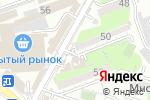Схема проезда до компании ТИН в Шымкенте