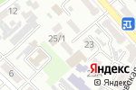 Схема проезда до компании Рахат тур в Шымкенте