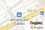 Схема проезда до компании ДАРЕНМЕД, ТОО в Шымкенте
