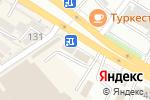 Схема проезда до компании Дарын в Шымкенте