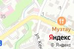 Схема проезда до компании Думан в Шымкенте