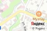 Схема проезда до компании Армат в Шымкенте