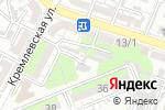 Схема проезда до компании КБК Wood в Шымкенте