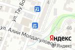Схема проезда до компании DENTAL FORTE в Шымкенте