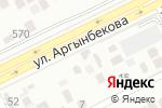 Схема проезда до компании Аян в Шымкенте