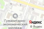 Схема проезда до компании Юридическая контора Акылбекова А.Б в Шымкенте