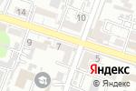 Схема проезда до компании Рассвет в Шымкенте
