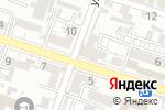 Схема проезда до компании Амадей в Шымкенте