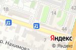 Схема проезда до компании PERECUS в Шымкенте