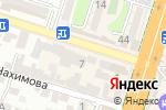 Схема проезда до компании ЭльДоШа в Шымкенте