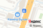 Схема проезда до компании Киоск по продаже куры-гриль в Шымкенте