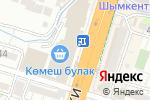 Схема проезда до компании TELE2 в Шымкенте