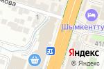 Схема проезда до компании ZENIT в Шымкенте