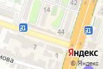 Схема проезда до компании Магазин косметики и бижутерии в Шымкенте