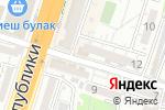 Схема проезда до компании Ай-Дина в Шымкенте