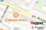 Схема проезда до компании IZUMY в Шымкенте