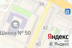 Схема проезда до компании AMG в Шымкенте