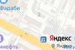 Схема проезда до компании Здоровье в Шымкенте