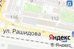 Схема проезда до компании РИМ в Шымкенте