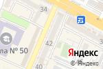 Схема проезда до компании Forward в Шымкенте