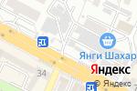 Схема проезда до компании GoldFinMarket в Шымкенте