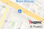Схема проезда до компании Авиценна в Шымкенте