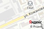 Схема проезда до компании Нур Полис в Шымкенте