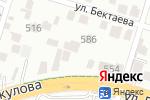 Схема проезда до компании Нура в Шымкенте