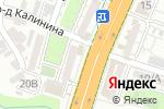 Схема проезда до компании AVON в Шымкенте