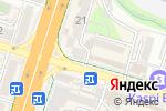 Схема проезда до компании rePUBlic 21.13 в Шымкенте