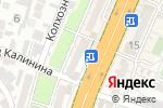 Схема проезда до компании Рахат-Дент в Шымкенте