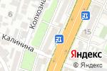 Схема проезда до компании Тонус в Шымкенте