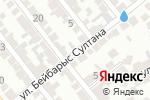 Схема проезда до компании Мужская парикмахерская в Шымкенте