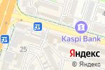 Схема проезда до компании Ляззат в Шымкенте