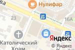 Схема проезда до компании Effect в Шымкенте
