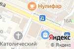 Схема проезда до компании Стардокс в Шымкенте