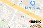 Схема проезда до компании Seven7 в Шымкенте