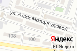 Схема проезда до компании Жансая в Шымкенте