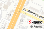 Схема проезда до компании City в Шымкенте