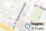 Схема проезда до компании Болашақ в Шымкенте