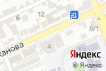 Схема проезда до компании Изюм в Шымкенте