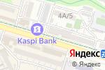 Схема проезда до компании Калитея в Шымкенте