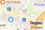 Схема проезда до компании Сувенирный магазин в Шымкенте