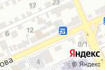 Схема проезда до компании Шебер-Сервис в Шымкенте