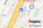 Схема проезда до компании Творческий рай в Шымкенте
